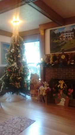 Herlong Mansion Bed and Breakfast Inn: Christmas Tree in meeting room