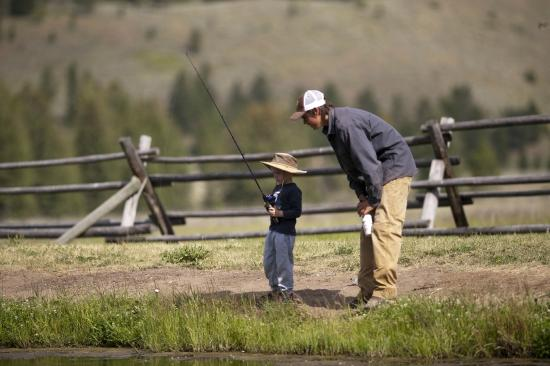 320 Guest Ranch: Learning to Fly Fish on our Stocked Pond