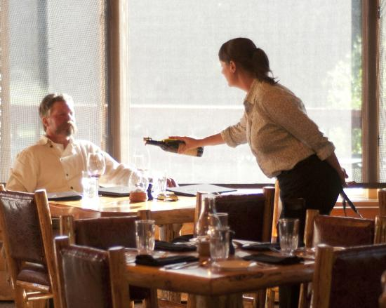 320 Guest Ranch Restaurant: We offer a varied and exciting wine list