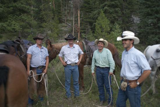 Gallatin Gateway, MT: Some of our professional wrangler