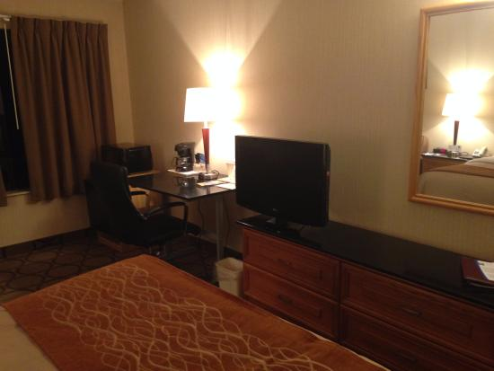 Comfort Inn Rimouski : TV Area