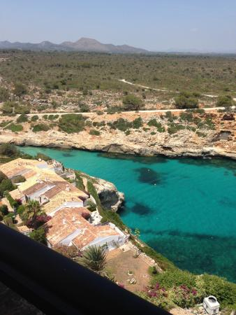 Complejo Calas de Mallorca: great view from our room
