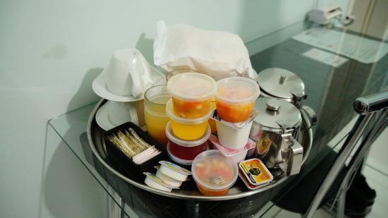 NovAmericana Hotel: cafe da manhã