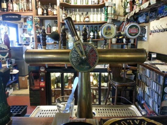 Auberge du Pecheur : le bar à whisky