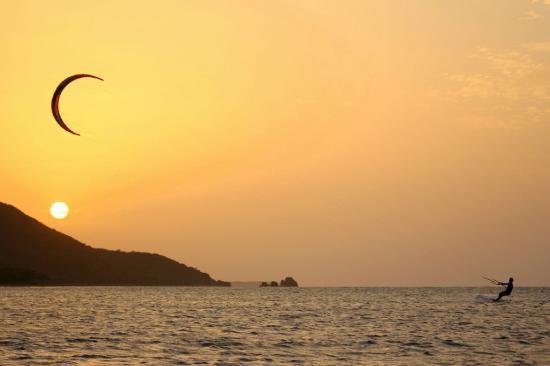 Cabarete, República Dominicana: Flat water sunset sessions