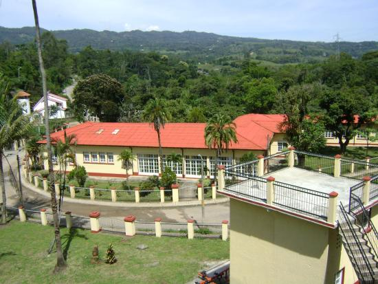 Moniquira, โคลอมเบีย: vista panorámica del Hotel Agua Blanca