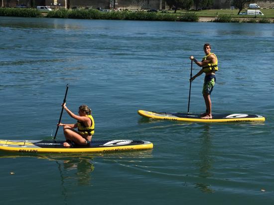 Canoe Vaucluse : Stand up Paddle en Avignon
