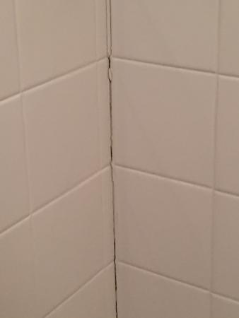 La Quinta Inn & Suites Albuquerque Journal Ctr NW: Bathroom Wall
