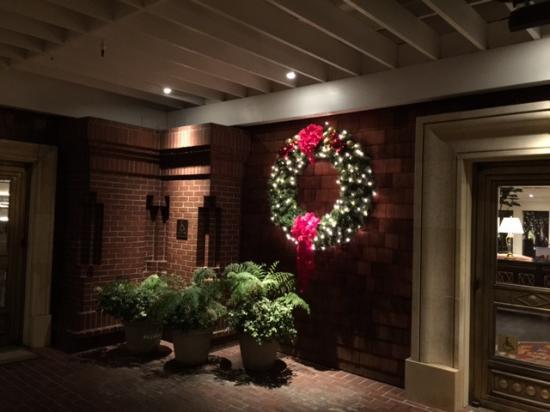 Menlo Park, Kalifornien: Wreath upon wrrival
