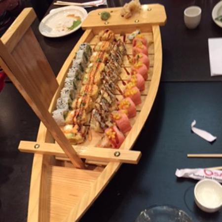 Foodies On Foot: Sushi - Osaka Sushi Bar