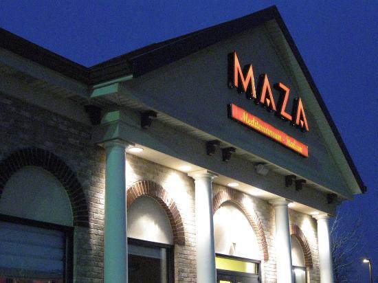 Maza Mediterranean Italian: Maza exterior