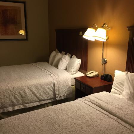 Hampton Inn and Suites Lake City: Super clean rooms