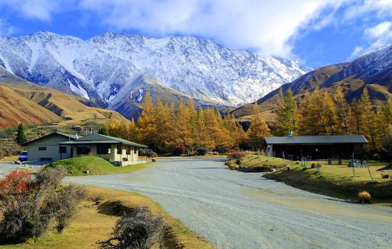 Mount Cook Glentanner Park Centre: The only fully equipped campground and campervan park for the Mount Cook region