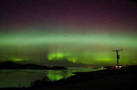 Edinbane, UK: Tonights Aurora Borealis