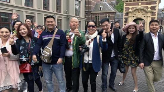 Babylon Tours Amsterdam: With my new friends from everywhere at Amsterdam