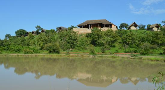 Национальный парк Моле, Гана: View from the waterhole