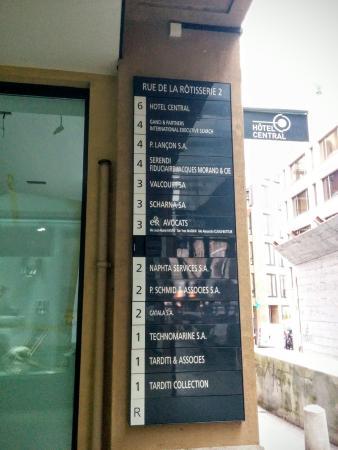 Hotel Central: На 6 этаже - отель