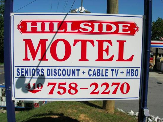 Centreville, MD: sign