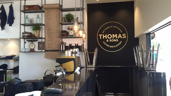 Thomas & Sons Coffee Bar & Eatery