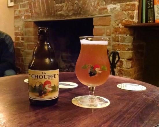 The Organ Grinder: Ótima cerveja da Brasserie d'Achouffe.