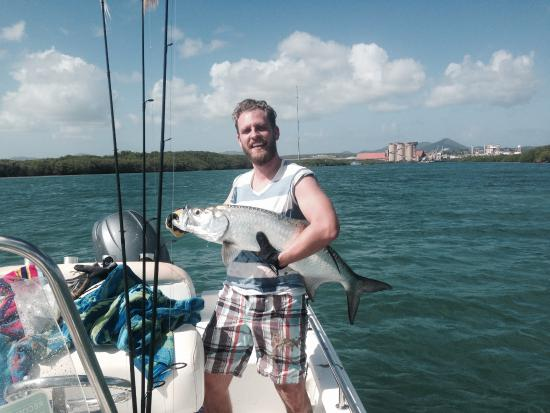 Bigger tarpon picture of st croix inshore fishing for St croix fishing