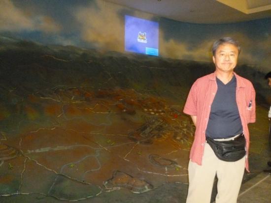 """元寇の際に私用された防戦艦用の海中杭 - ハノイ、ベトナム軍事歴史博物館の写真写真: """"元寇の際に私用された防戦艦用の海中杭"""""""