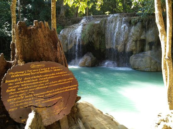 น้ำตกชั้น 7 - Picture of Erawan Falls, Erawan National ...