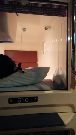 B&S Eco-Cube Shinsaibashi: capsule bed room