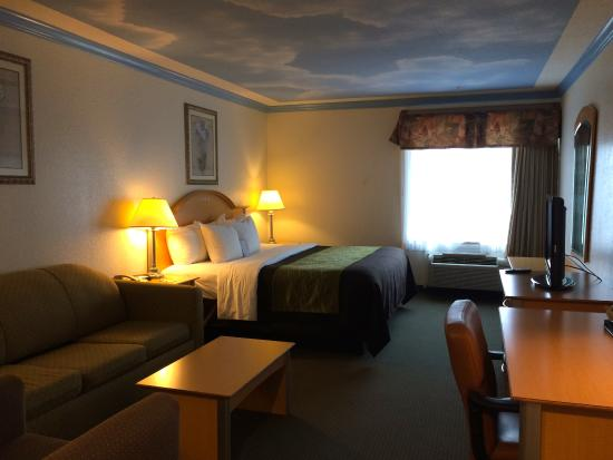 Comfort Inn & Suites Seabrook: Bedroom / Living-room