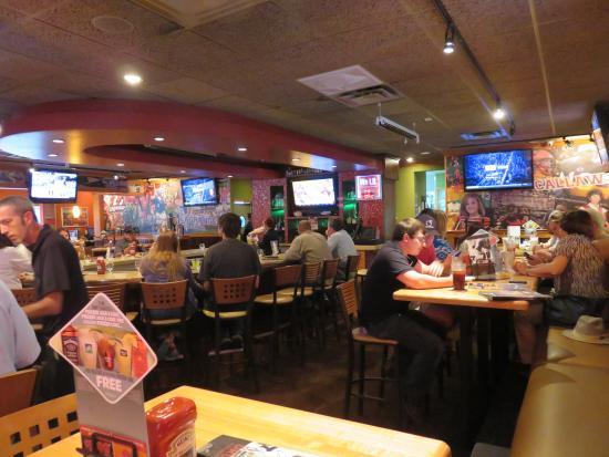 LaGrange, GA: Interior of Restaurant