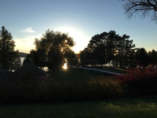 Elkhart Lake, Висконсин: Sunset