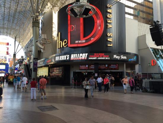 the d las vegas casino pictures