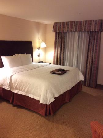 Hampton Inn & Suites Tacoma-Mall: 部屋