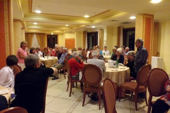 Hotel Tritone: Dining room