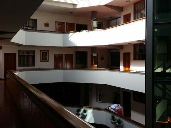 Hotel Continental: corredor central