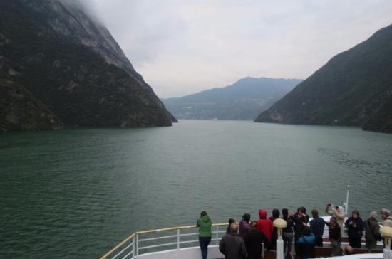 Chongqing Qutang Gorge: On the Gold 8