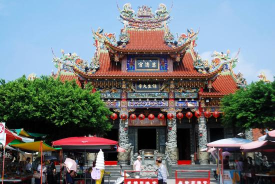 Kaohsiung, Taiwan: A Temple Near Lotus Pond