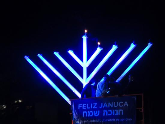 Jewish Tours: Feliz Januka from Buenos Aires