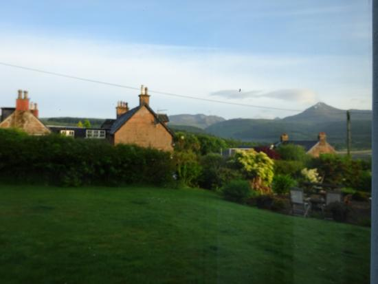 The Glenartney: view from sitting room