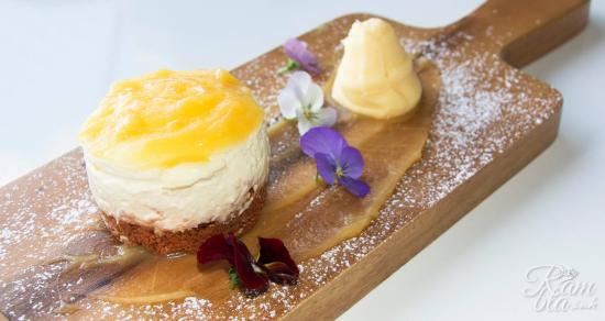 Pirongia, Nowa Zelandia: Lemon & Lime Cheesecake