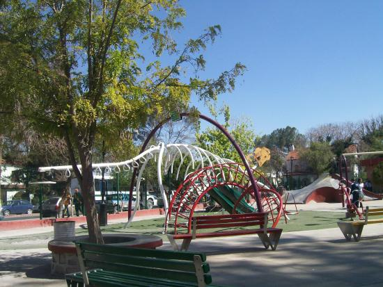 Saltillo, Mexico: Playground at the Alameda