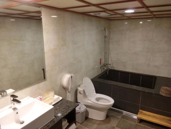 Chyuan Du Spring Resort : 浴室湯屋
