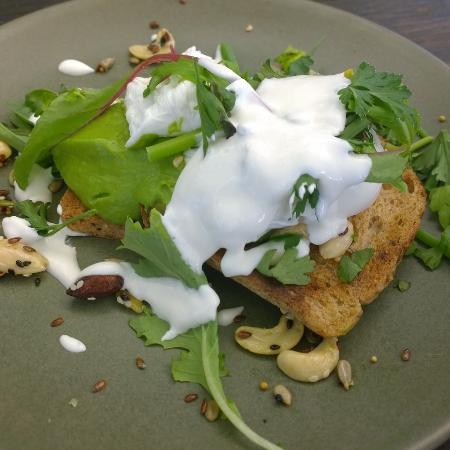 Moore & Moore Cafe: Smashed Avocado on Gluten Free Toast