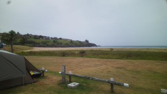 The view from the camp sites to the north east - Picture of