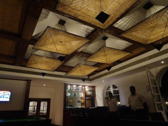 Sol Bar ceiling design is nice - Picture of Club Mahindra Emerald ...
