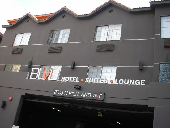 Blvd Hotel Suites In Hollywood