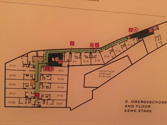 floor plan picture of louis hotel munich tripadvisor. Black Bedroom Furniture Sets. Home Design Ideas