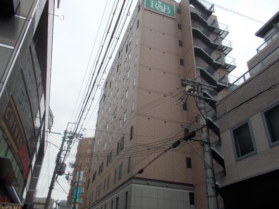 R&B Hotel Kyoto Station Hachijyoguchi: ホテル