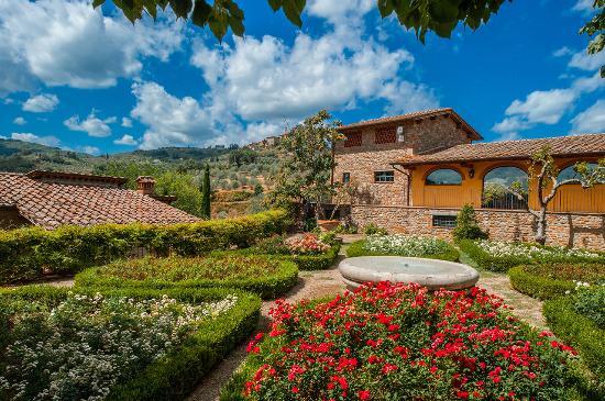 Fontebussi Tuscan Resort: giardino