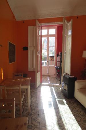 Casa Diagonal: The living room